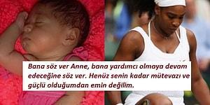 Kız Bebek Dünyaya Getiren Tenis Yıldızı Serena Williams'ın Annesine Yazdığı Duygu Dolu Mektup