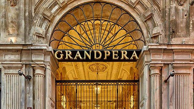 Birbirinden güzel finalistlerimizin yarışacağı adres ise Grand Pera!