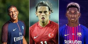 Geleceğin En Büyük Futbolcuları Olmaya Aday 25 'Altın Çocuk'