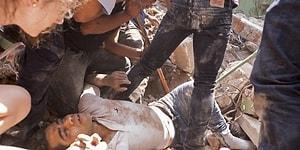 Meksika'da 200'den Fazla İnsanın Hayatına Mal Olan Depremden Kabus Gibi Görüntüler!