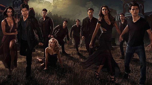 12. The Vampire Diaries   IMDb 7.8
