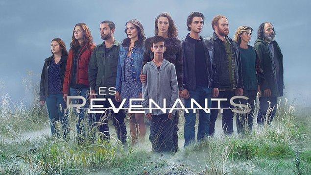 10. Les Revenants   IMDb 8.2