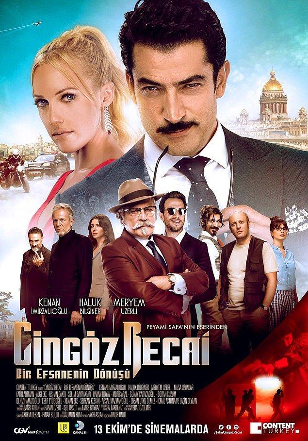 1. Onur Ünlü yönetmenliğindeki Cingöz Recai'nin posteri yayınlandı.