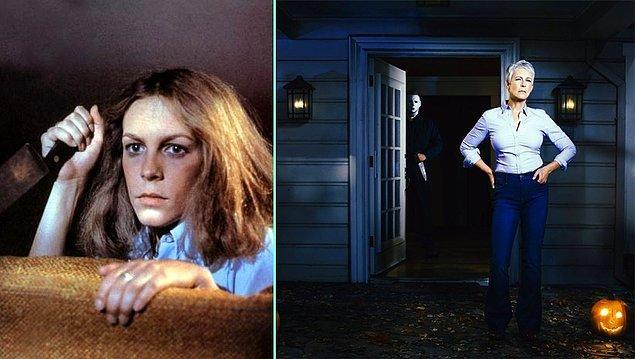 9. Halloween serisinin 19 Ekim 2018'de gösterime girecek yeni filminde tanıdık bir isim olacak: Jamie Lee Curtis