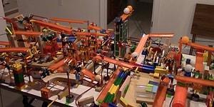 Bu Rube Goldberg Makinesini İzlerken Kaçınılmaz Tepkiniz 'Yok Artık' Olacak!