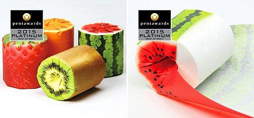 The Fruits Toilet Paper by Latona Marketing Inc.