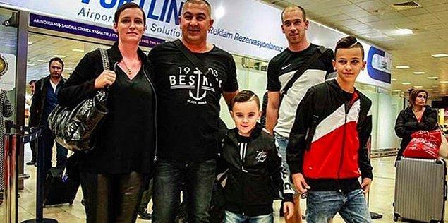 Bunun üzerine Beşiktaş kulübü, mağdur edilen bu aileyi ve minik taraftarı Kasımpaşa maçına davet etti. Benzeş ailesi, Beşiktaş-Kasımpaşa maçını kulübün özel davetlisi olarak statta izledi.