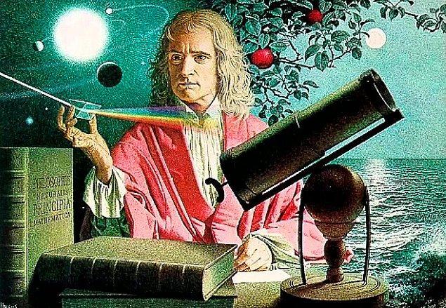 Newton'un Başına Gökten Düşen Bir Elma
