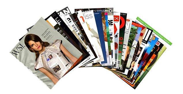 5. Haftalık popüler bir dergi alarak eve geldin. Derginin içindekileri hangi sıraya göre okursun?