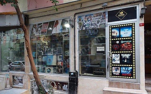 5. DVD-CD (film) kiralama dükkanları...