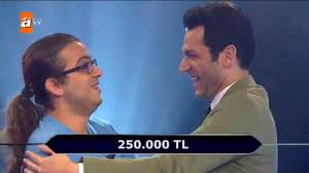 Büyük ödülü kazanamasa bile 250.000 TL'nin sahibi olduğu için çok mutlu olduğunu söyleyen Çağdaş, kazandığı parayı eğitim hayatı için harcayacağını söyledi.