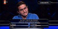 """""""Kim Milyoner Olmak İster"""" Yarışmasında Çağdaş İrfan Yıldırım 1 Milyonluk Soruyu Açtırdı!"""
