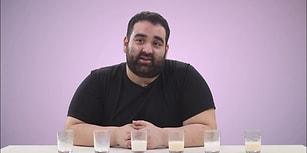 Birbirinden Farklı Süt Çeşitlerini Deniyoruz