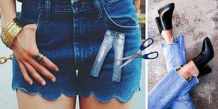 Uzun Zamandır Giymediğiniz Kot Pantolonları Değerlendirmenin En İyi Yolları