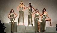 Naomi, Cindy, Claudia! Versace İçin Podyuma Çıkan 90'ların Top Modelleri Milan'ı Büyüledi