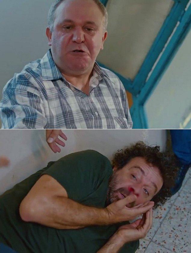 """Bir yeni mesajınız var: """"Ben senin burnunu kırıyorum, git sen de oğlununkini kır."""""""