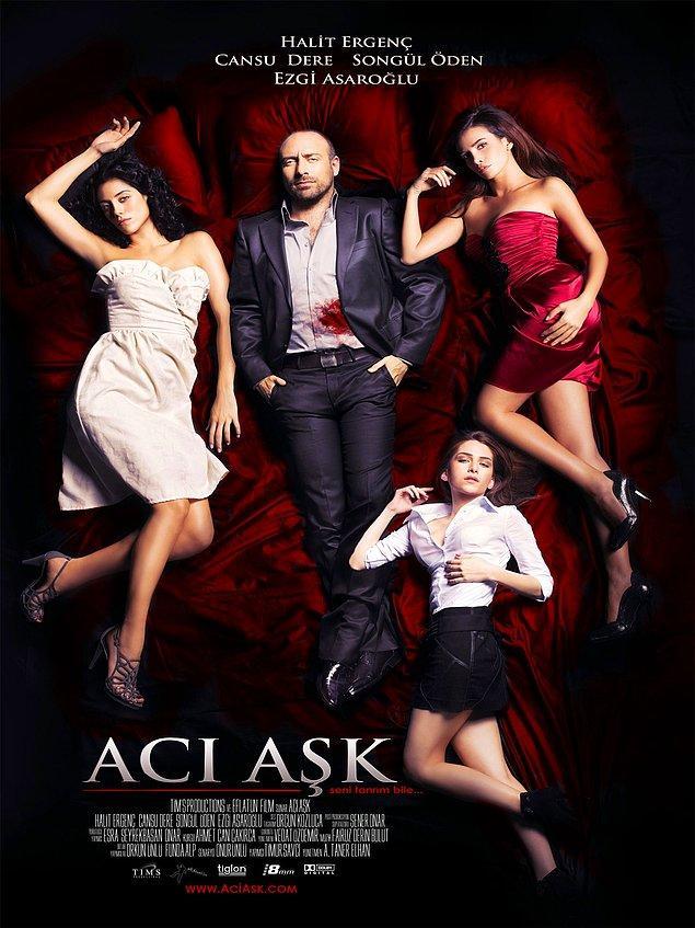 Acı Aşk (2009) ile enteresan bir romantik drama gördük.