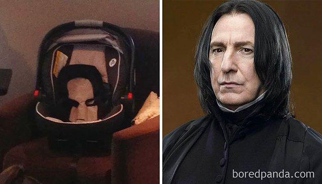20. Harry Potter aleminin en yalnız adamı, Severus Snape...