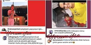 Bazen Gülmüş Bazen Sinirlenmişler! İşte Ünlülerin Instagram'da Takipçilerine Verdiği İlginç Cevaplar