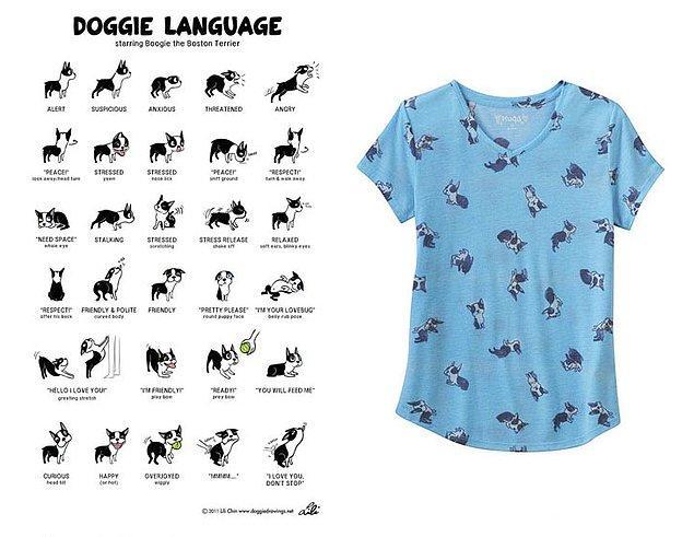 6. Lili Chin'e ait köpek illüstrasyonları 👇