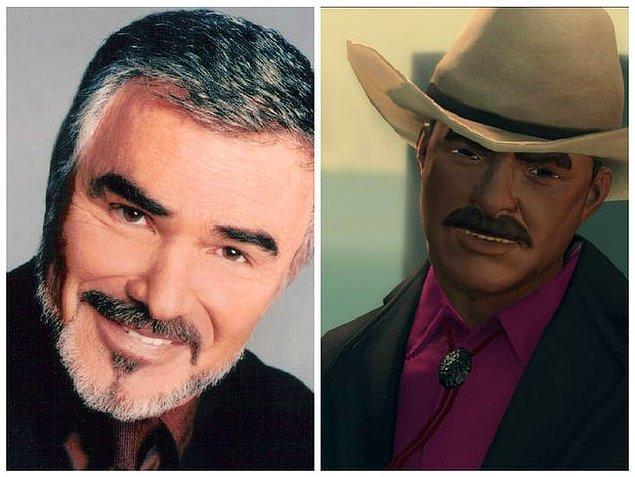 3. Burt Reynolds (Saints Row: The Third)