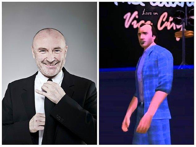 5. Phil Collins (Grand Theft Auto: Vice City Stories)