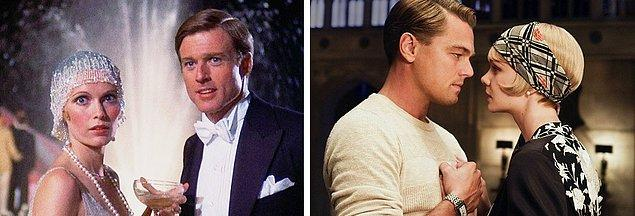 15. The Great Gatsby 1974 / 2013