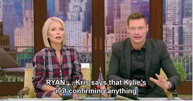 Böylece ailenin hayatını anlatan Keeping Up With The Kardashians programının ekrana geri dönüşü bol bol bebek haberiyle gündeme oturmuş oldu.