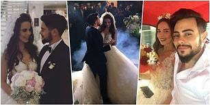 Rüzgar Gibi Bir Aşkta Mutlu Son: Tuğba Beyazoğlu ile Rüzgar Erkoçlar Masalsı Bir Düğünle Evlendi!