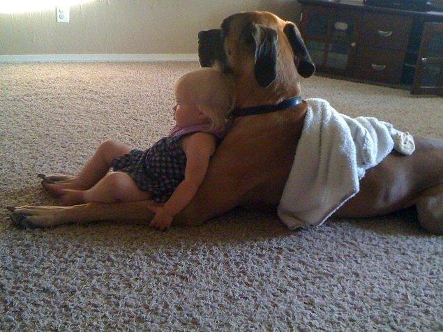 8. Harika birer bebek bakıcısıdırlar.