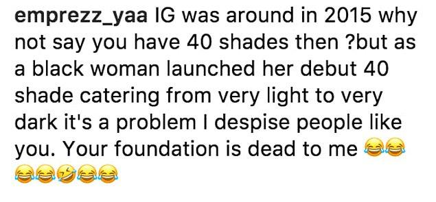 Fotoğrafın altına gelen yorumlarda çoğu insan Rihanna'yı destekledi...