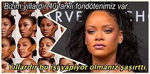 Meşhur Rihanna Ayarında Son Durak; Yeni Makyaj Ürünlerine Dil Uzatanlar! 🐍🔥