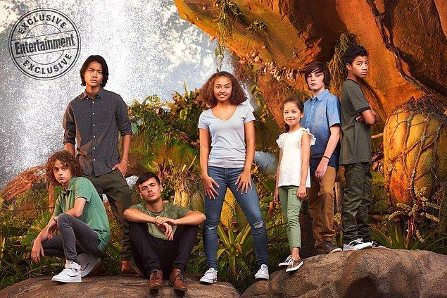 2. Avatar'ın devam filminde Sully'nin (Sam Worthington) ve Tonowari'nin (Cliff Curtis) çocuklarını oynayacak oyuncuların olduğu bir fotoğraf yayınlandı.