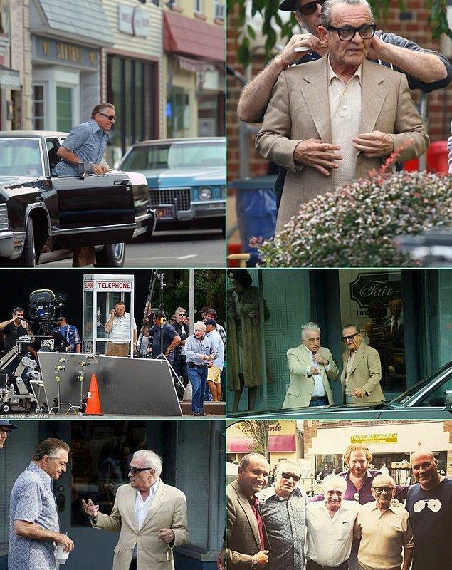 4. Scorsese demişken; Scorsese-De Niro-Pesci üçlüsünü Goodfellas'tan 27 yıl sonra buluşturan The Irishman'in çekimlerinden ilk fotoğraflar gelmeye başladı.