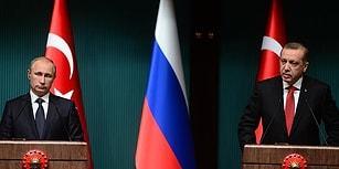 Erdoğan-Putin Görüşmesi Gerçekleşti: 'Irak ve Suriye'nin Toprak Bütünlüğünde Hemfikiriz'