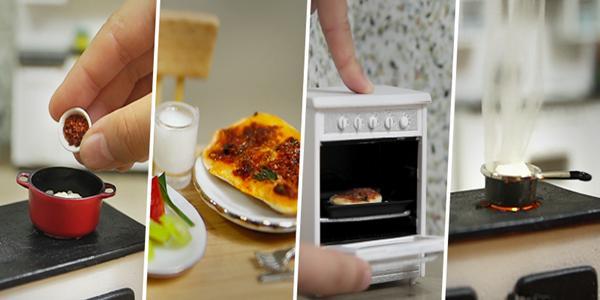 Mini Türk Mutfağı - Mini Mantı 9