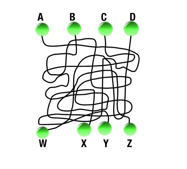 4. A noktası hangi noktaya bağlı?
