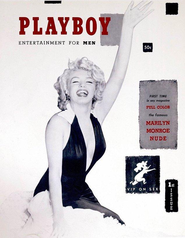 1. Yıl 1953, Marilyn Monroe ilk Playboy sayısının kapağında çıktı. O zamandan beri 22 defa daha 13 farklı ülkenin kapağında yer aldı.