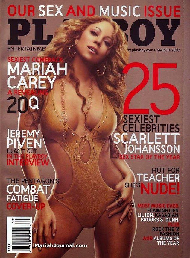17. 2007: Mariah Carey'nin tek bir kapak sayısı var. Bu sayı 11. albümü E=MC² ile aynı zamanda çıktı.