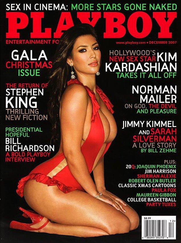 18. 2007: Kim Kardashian, 'Keeping Up With Kardashians' şovu başladıktan sonra Amerika sayısında kapak kızı oldu.