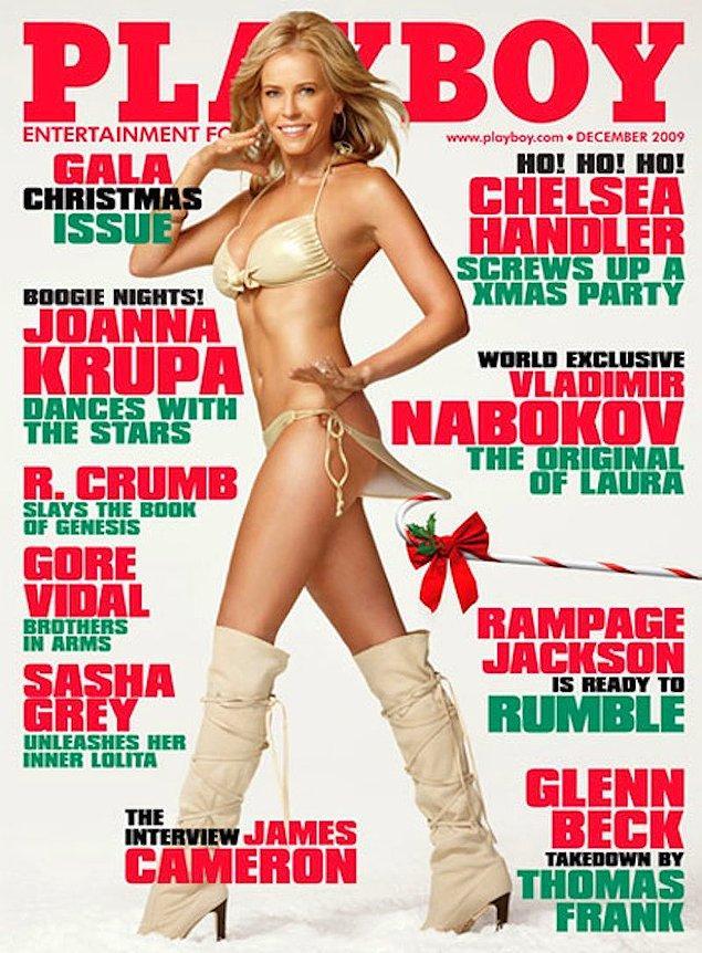 19. 2009: Chelsea Handler, ilk ve tek sayısı. Maxim's Hot 100'a çıktığı yıl Playboy'da yer aldı.