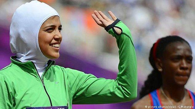 6. 2012: Olimpiyatlarda ilk kadın atletler