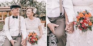 Düğün Fotoğrafı Çektirme Fırsatı Bulamamış Yaşlı Çiftin 60 Yıl Sonra Gelen Duygu Dolu Albümü