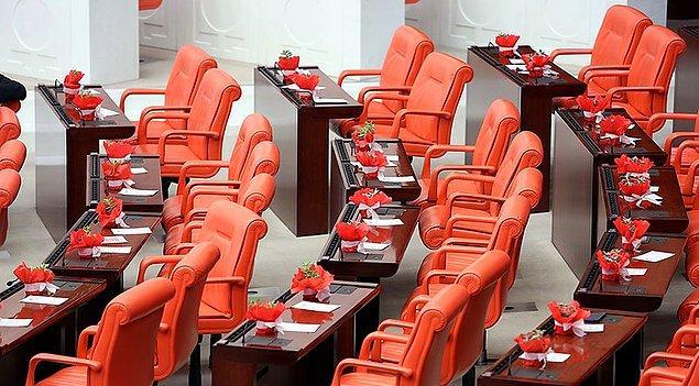 HDP ise yasama yılı açılışına katılmadı.