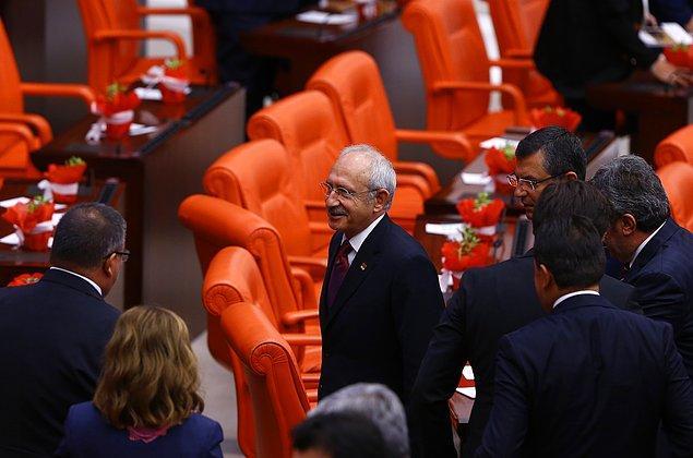 """Sorulan soru üzerine Kahraman """"Herkesi davet ettik. Galiba randevusu vardı"""" dedi. Kılıçdaroğlu'nun yanıtı ise sert oldu: """"TBMM Başkanı'na yalan söylemek yakışmıyor."""""""