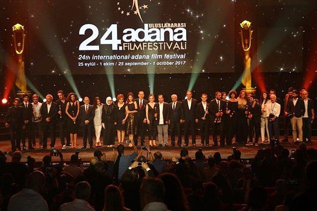 24. Uluslararası Adana Film Festivali'nin büyük ödül töreni önceki akşam Çukurova Üniversitesi Kültür Merkezi'nde gerçekleştirildi.