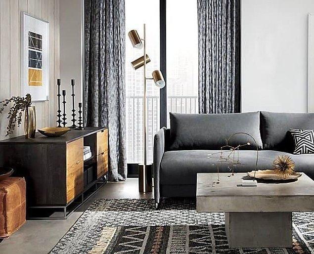 1. Küçük dokunuşlarla ortamın havası nasıl da değişmiş. Sadece halı ve yastıkların değişimiyle odanız bambaşka bir görüntü alabiliyor.