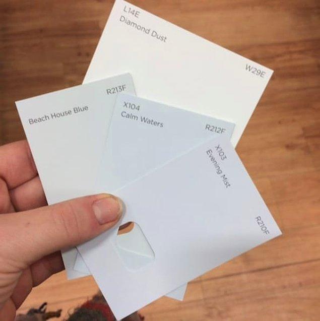 11. Renk için karar vermek istiyorsan alışverişe giderken yanında beyaz kağıt götür ve hepsini dene.