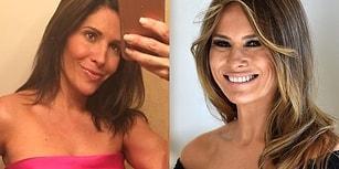 Aldığı Kötü Bir Eleştiri Nedeniyle Melania Trump'a Benzemek İçin Küçük Bir Servet Harcayan Kadın