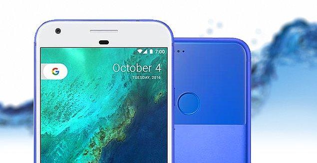 """Google Pixel 2 ikilisi suya dayanıklı olacak. Google'a göre Pixel 2 """"ıslak koşullara göre dizayn edildi."""""""